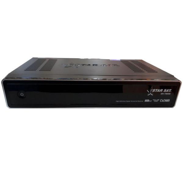 گیرنده دیجیتال استارست مدل SR-T8000 HD T2