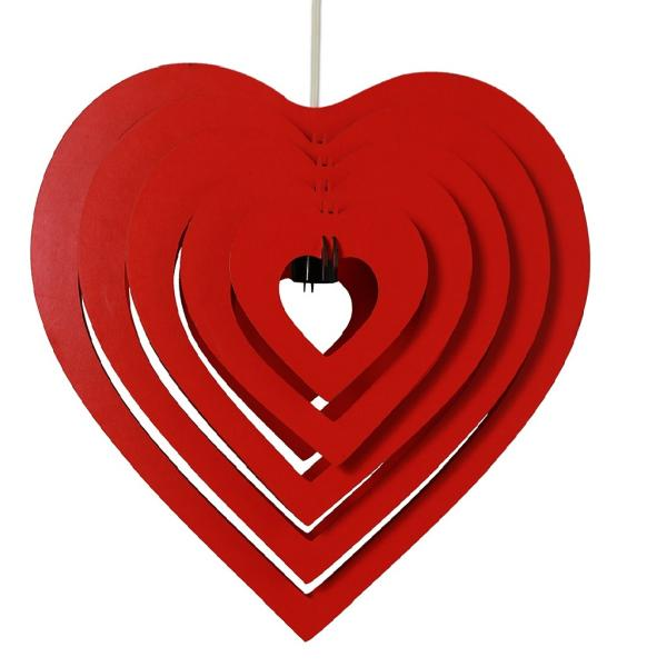 لوستر طرح قلب