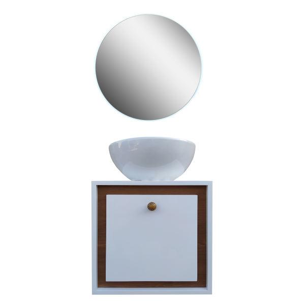 ست کابینت و روشویی مدل at4040 به همراه آینه