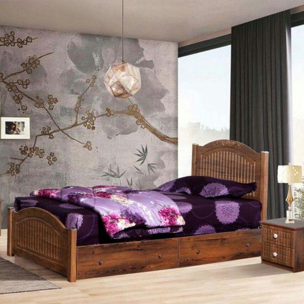 تخت خواب یک نفره مدل وکیوم Vakiyomسایز 90×200 سانتی متر