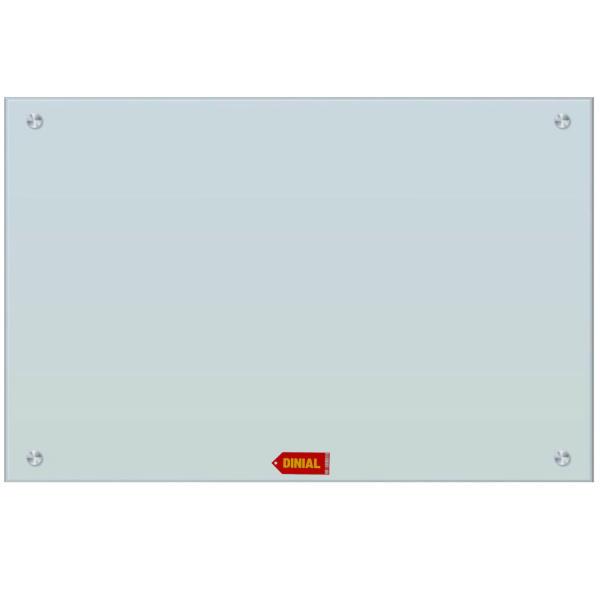 تخته وایت برد شیشه ای مدل DINIAL 3578 سایز 60x45 سانتی متر