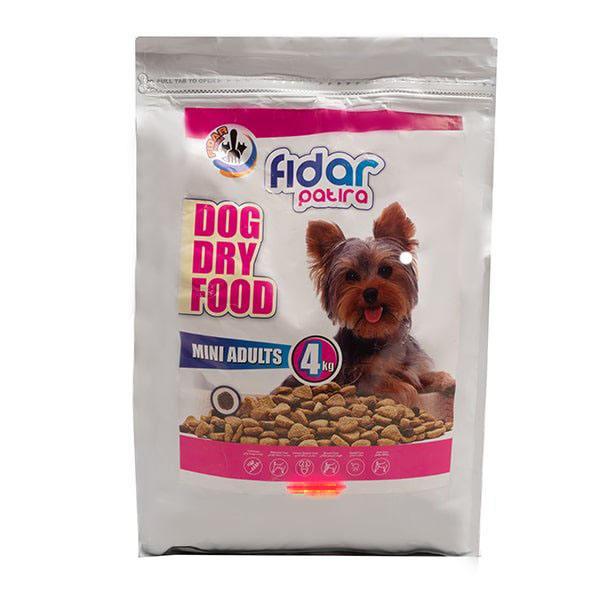 غذای خشک سگ فیدار پاتیرا مدل mini وزن 4 کیلوگرم