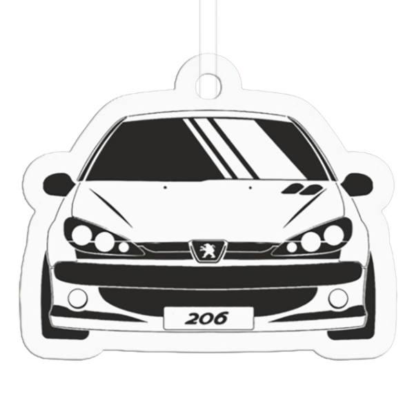 خوشبو کننده خودرو طرح پژو 206