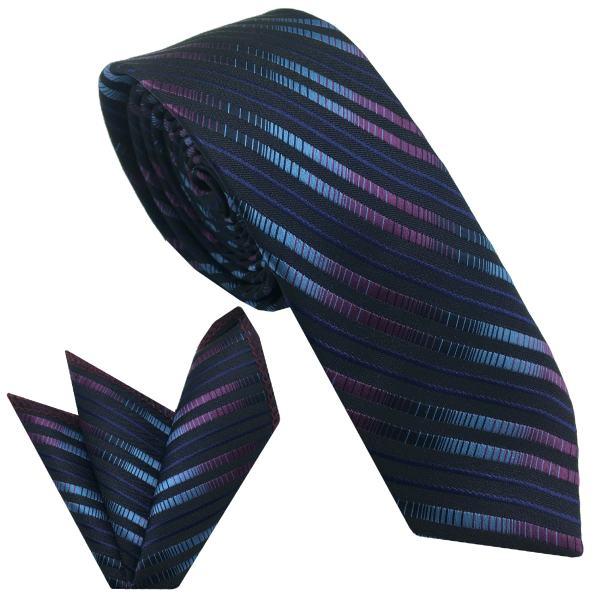ست کراوات و دستمال جیب مردانه هکس ایران مدل KT-MD85
