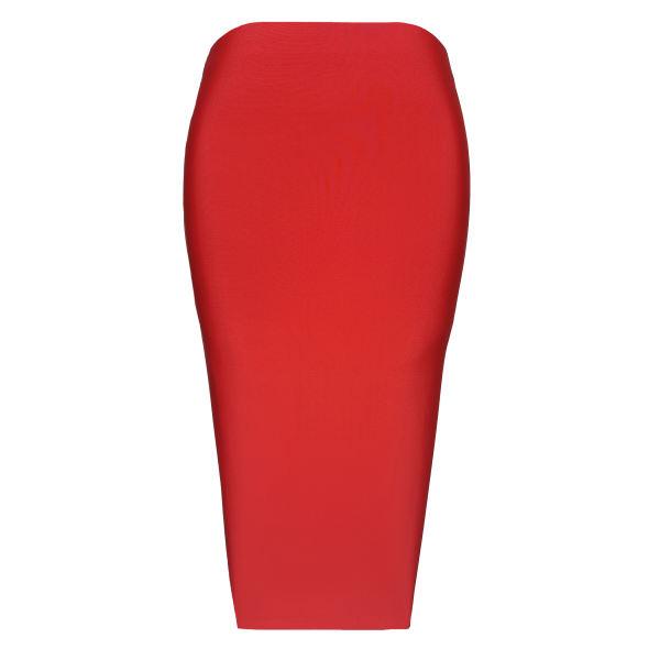 دامن زنانه کد C7 رنگ قرمز