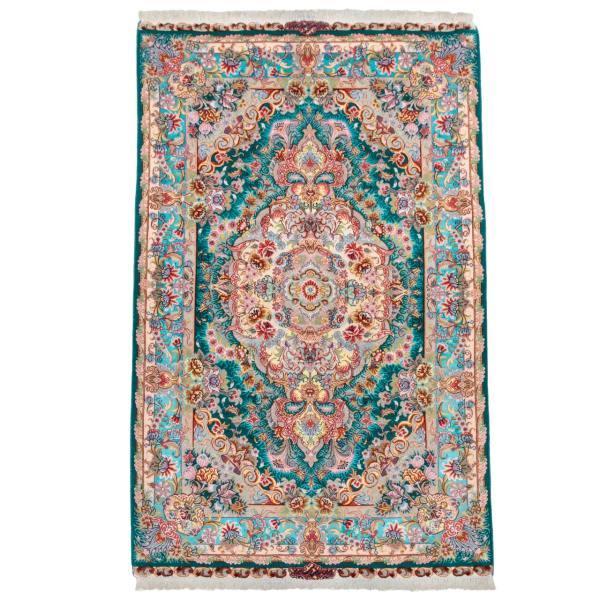 فرش دستباف ذرع و نیم سی پرشیا کد 172040