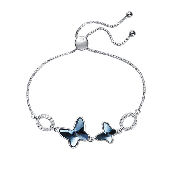 دستبند نقره زنانه کوبیک کد QB-2305