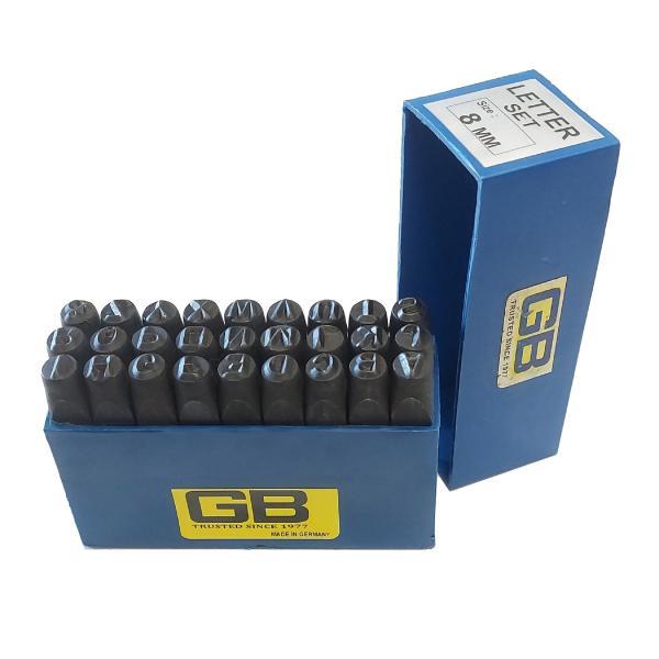 مجموعه 27 عددی سنبه حروف جی بی مدل MA08
