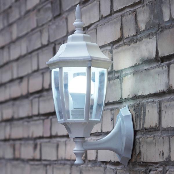 چراغ حیاطی مدل رزا 01 همراه با لامپ ال ای دی 9 وات