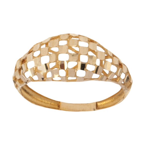 انگشتر طلا 18 عیار زنانه گالری یارطلا مدل فیوژن کد ANF12