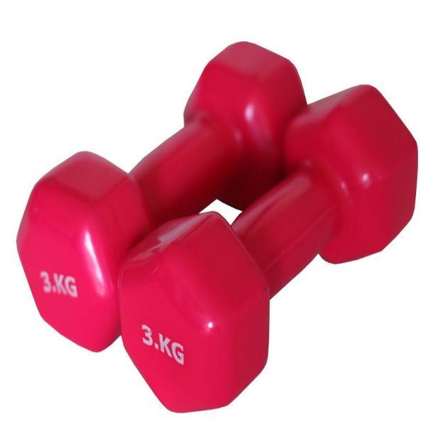 دمبل ایروبیک وزن 3 کیلوگرم مدل 01 بسته 2 عددی