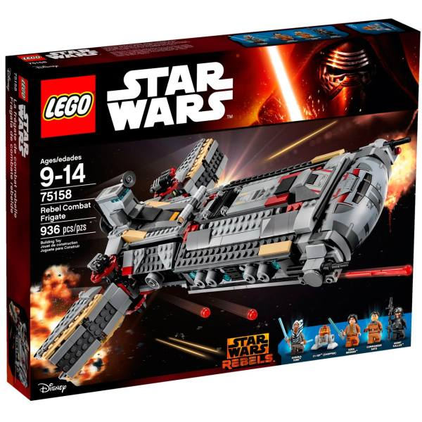 لگو سری Star Wars مدل Rebel Combat Frigate 75158
