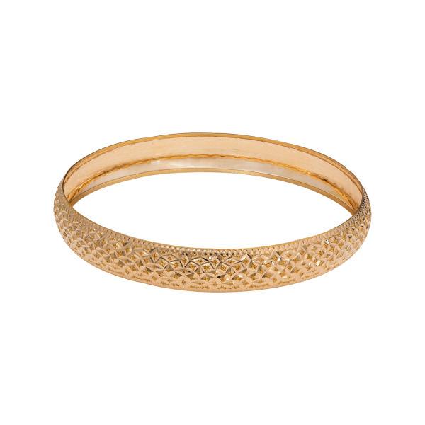 النگو طلا 18 عیار زنانه گالری یارطلا کد AL06-G-2