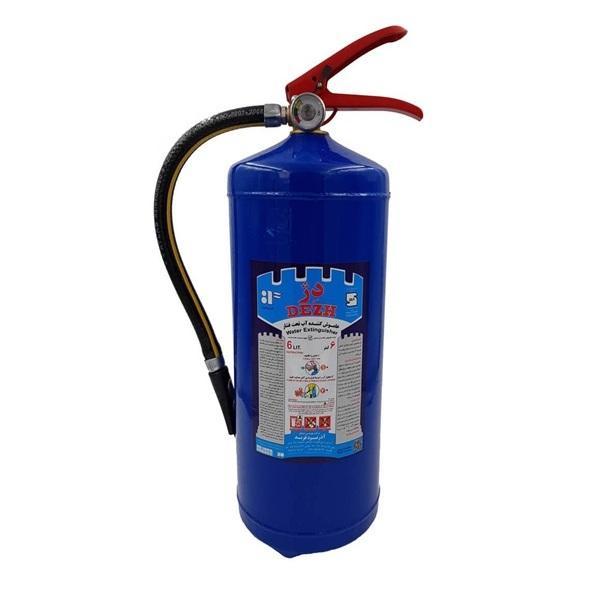 کپسول آتش نشانی دژ مدل آب و گاز وزن 6 کیلوگرم