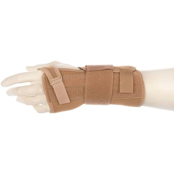 مچ بند طبی دست چپ پاک سمن مدل Neoprene CTS With Hard bar سایز بزرگ