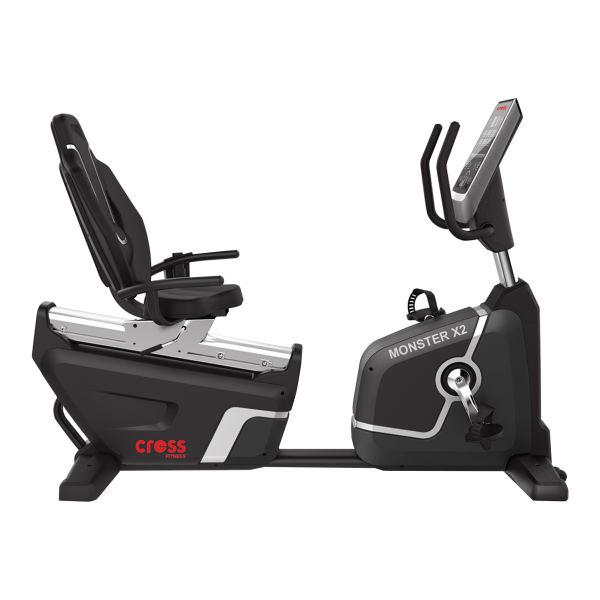 دوچرخه ثابت کراس فیتنس مدل Monster X2