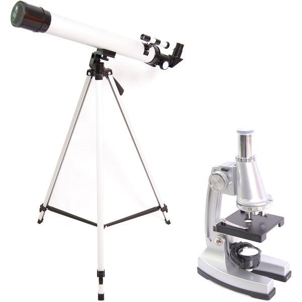 تلسکوپ مدل FANDEL به همراه میکروسکوپ