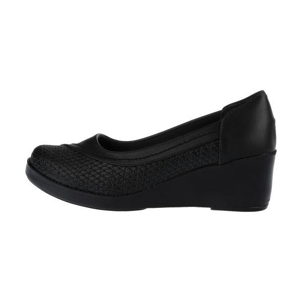 کفش روزمره زنانه طبی سینا مدل ملیسا رنگ مشکی