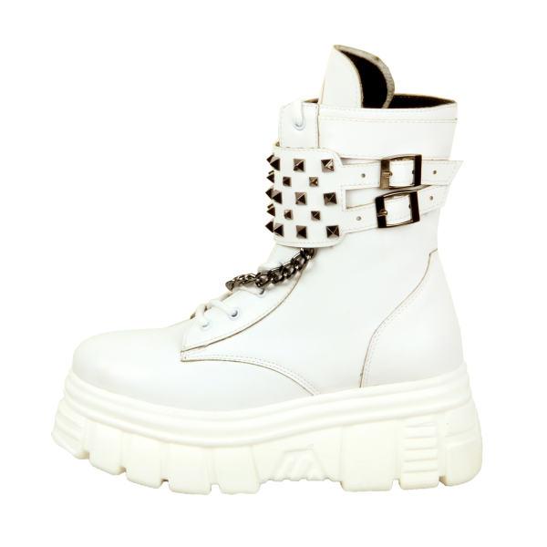 بوت زنانه ست کالکشن مدل 2001 رنگ سفید