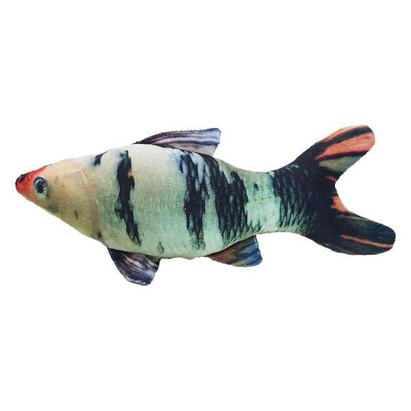 اسباب بازی گربه سری ماهی پولیشی مدل peacock fish