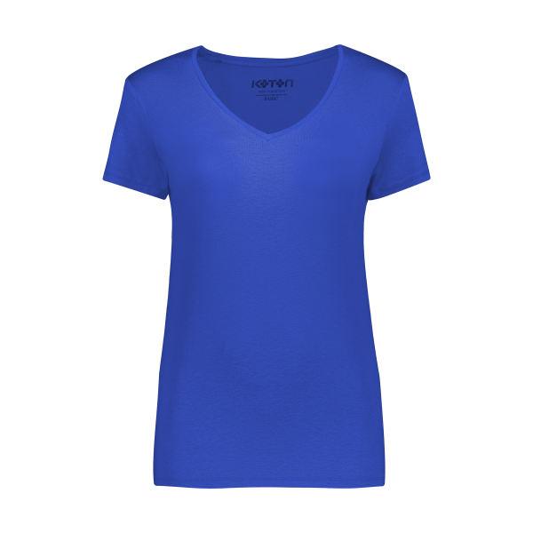 تی شرت زنانه کوتون مدل 0YAK13640OK-Blue