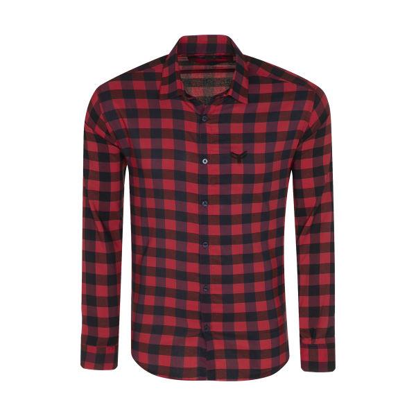 پیراهن آستین بلند مردانه پیکی پوش مدل M02492