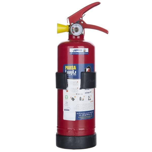 کپسول آتش نشانی پودری پارسا 1 کیلوگرمی