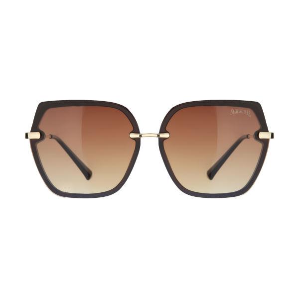 عینک آفتابی زنانه سانکروزر مدل 6017 br