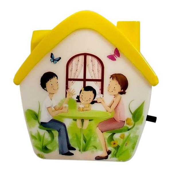 چراغ خواب کودک طرح خانه کد 01