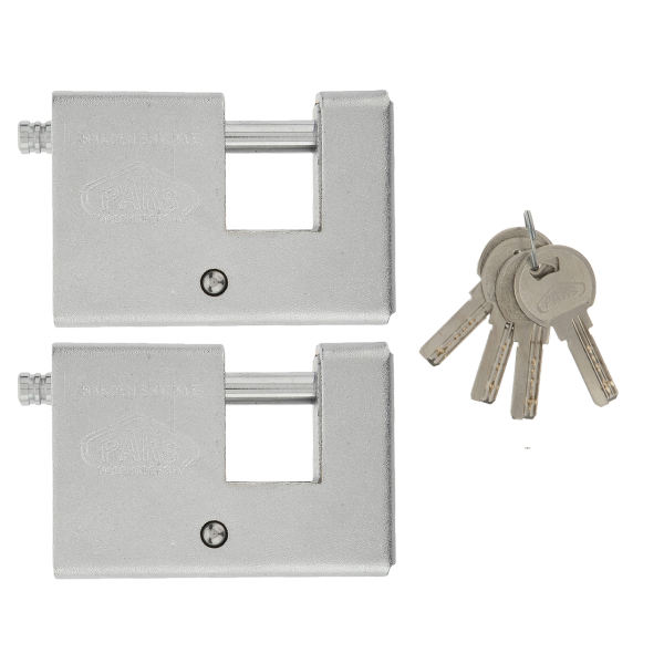 قفل کتابی پارس مدل قفل کتابی 700 پارس بسته 2 عددی با کلید مشابه کامپیوتری