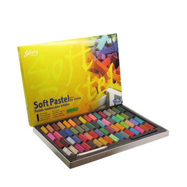 پاستل گچی 64 رنگ گالری مدل WILDTULIP