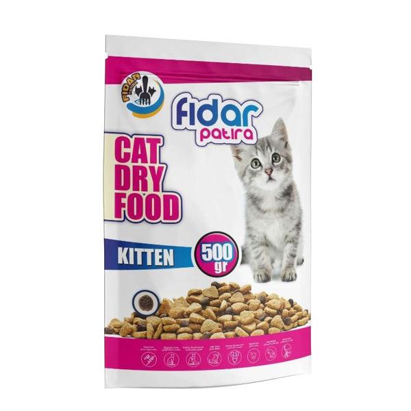 غذای خشک بچه گربه فیدار مدل Kitten 500 وزن 500 گرم