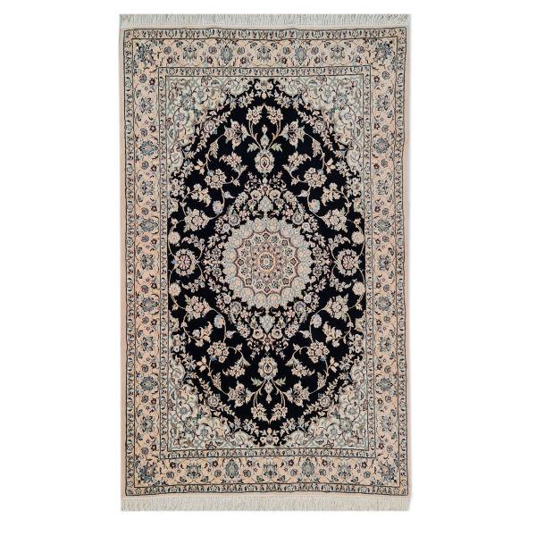 فرش دستبافت سه متری مدل نایین کد 1071