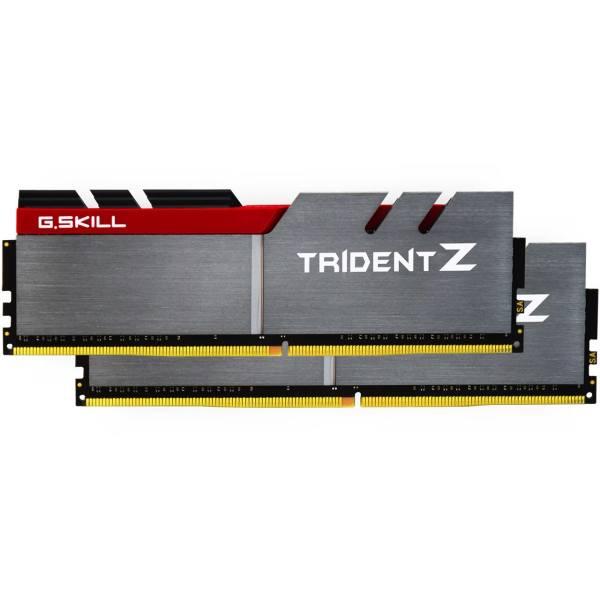 رم دسکتاپ DDR4 دو کاناله 3200 مگاهرتز CL16 جی اسکیل مدل Trident Z ظرفیت 32 گیگابایت
