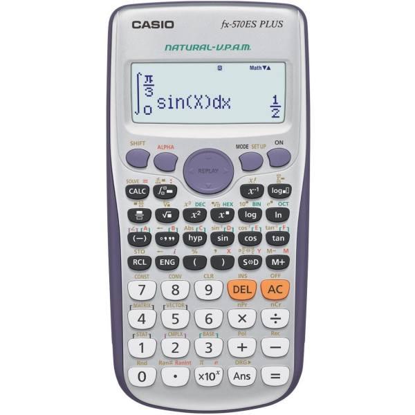 ماشین حساب کاسیو مدل FX-570 ES Plus