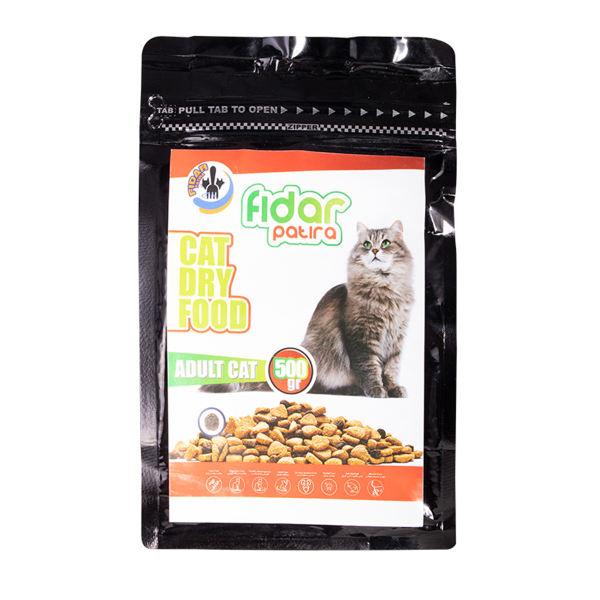 غذای خشک گربه فیدار پاتیرا مدل Adult وزن 500 گرم