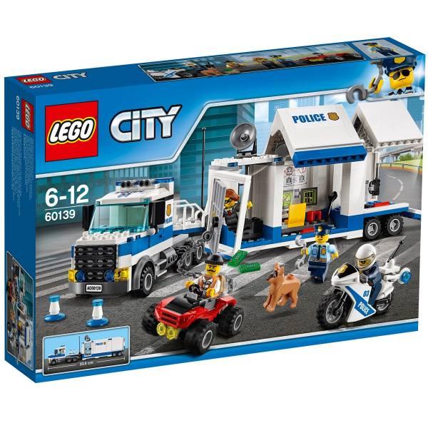 لگو سری City مدل Mobile Command Center 60139
