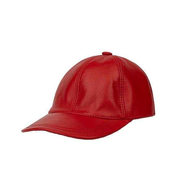 کلاه کپ مدل چرم طبیعی