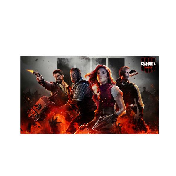 ماوس پد مخصوص بازی طرح Call of Duty zombie مدل 122233
