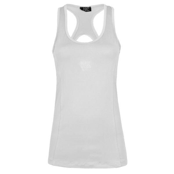 تاپ ورزشی زنانه مدل 030 - 2771 رنگ سفید