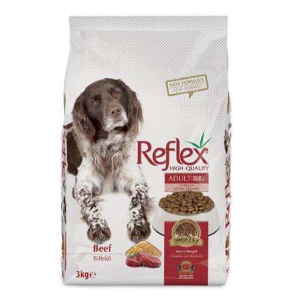 غذای خشک سگ رفلکس مدل Adult وزن 3 کیلوگرم