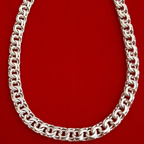 زنجیر نقره مردانه کد HB97