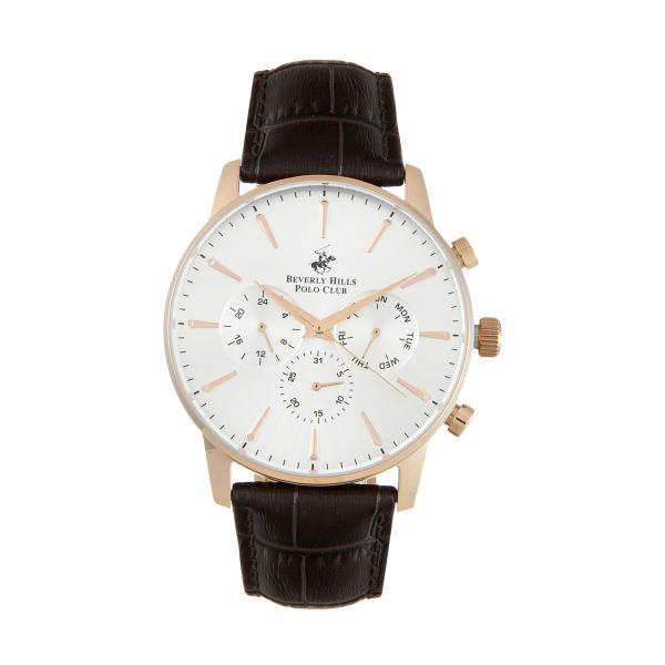 ساعت مچی عقربهای مردانه بورلی هیلز پولو کلاب مدل BP3037X.432