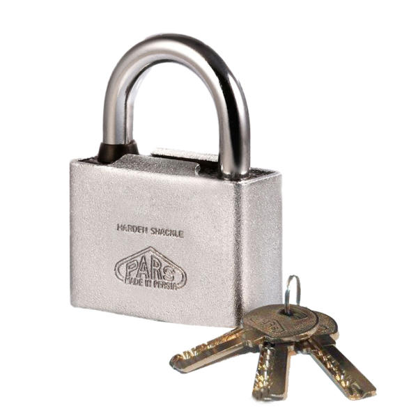 قفل آویز پارس کد 75