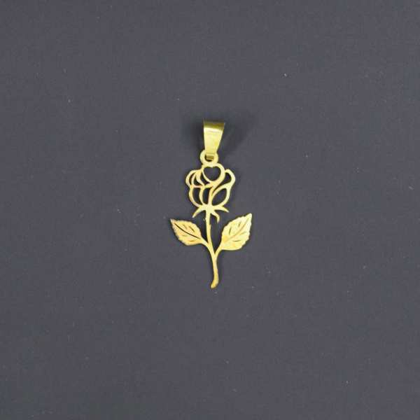 آویز گردنبند طلا 18 عیار زنانه کانیار گالری کد 1817