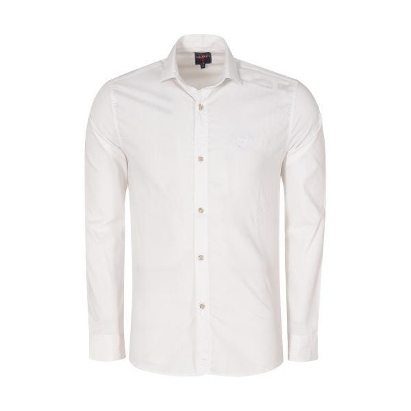پیراهن مردانه کد PVLF-W-M-9903 رنگ سفید غیر اصل