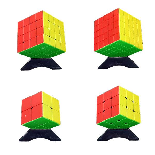 مکعب روبیک شنگ شو مدل GEM کد 721A-1 مجموعه 4 عددی