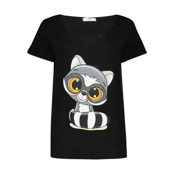 تی شرت زنانه مون مدل 163120499