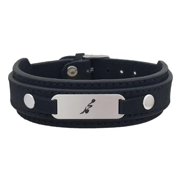 دستبند نقره مردانه ترمه ۱ مدل دستبند نقره اسم محمد کد Dcsf0016