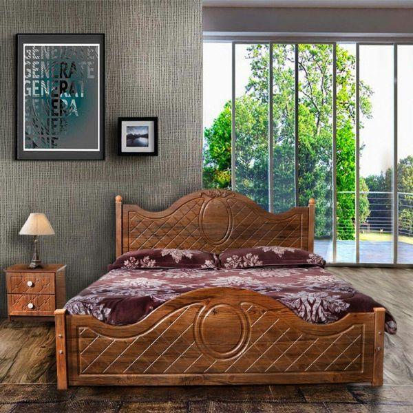 تخت خواب دونفره مدل لیلیوم سایز 200×160سانتی متر